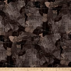 Moda Compositions Maps Charcoal
