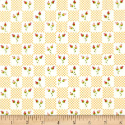Moda LuLu Lane Flower Patch Buttercup Fabric