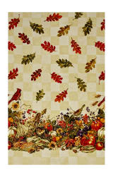 Bountiful Harvest 56'' Wide Double Border Multi Fabric