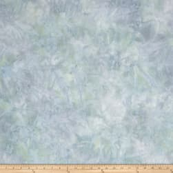 Kaufman Artisan Batiks Patina Handpaints Mottled Spa Fabric