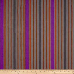 Kaufman Figment Stripe Smoke Fabric