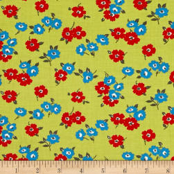 Moda Sunday Drive In The Meadow Clover Fabric