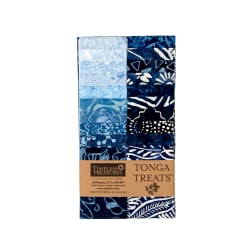 "Timeless Treasures Tonga Batik Indigo 2.5"" Strips Half Pack"