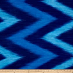 Timeless Treasures Ikat Blue