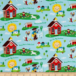 Nursery Rhymes Daytime Multi Fabric