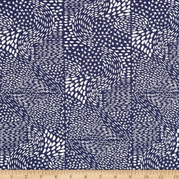 Aria Marks Navy Fabric