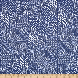 Aria Marks Blue Fabric