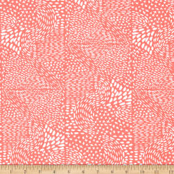 Aria Marks Coral Fabric
