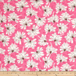 Martini Firework Floral Pink Lady Fabric
