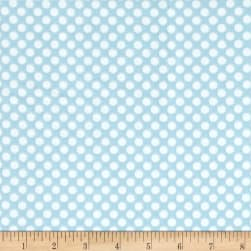Comfy  Flannel Dot Blue/White