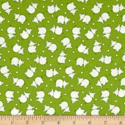 Penny Rose Toy Chest 2 Elephant Green Fabric