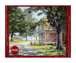 "Coca-Cola in the Heartland 36"" Panel Multi"