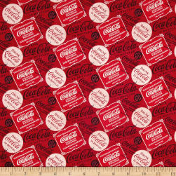 Coca-Cola Vintage Collage Red