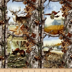 RealTree Deer & Turkey Allover Multi