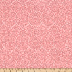Riley Blake Garden Girl Damask Pink Fabric