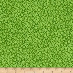"108"" Wide Quilt Back Mono Floral Green"