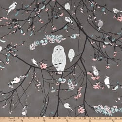 Art Gallery Blithe Bird Songs Moon Fabric