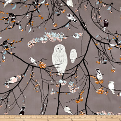 Art Gallery Blithe Bird Songs Sun Fabric