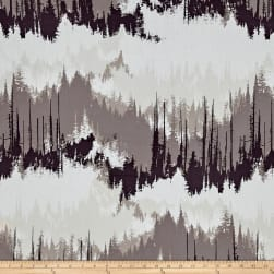Art Gallery Blithe Evergreens Dusk Fabric