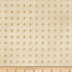 QT Fabrics Farm To Table Geometric Natural Fabric