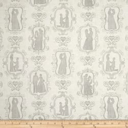 QT Fabrics I Do Bride & Groom Silhouettes
