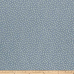 French General Adelaide Jacquard Bleu Fabric