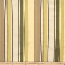 Lillian August Andover Stripe Sateen Herb Garden Fabric