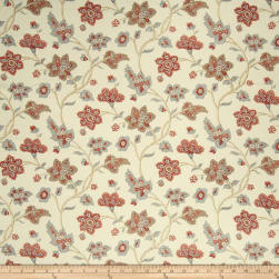 French General Babette Linen Rose Fabric