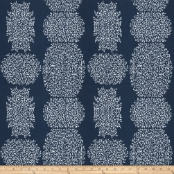 Kendall Wilkinson Beaded Batik Outdoor Indigo Fabric