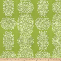 Kendall Wilkinson Beaded Batik Outdoor Lime Fabric