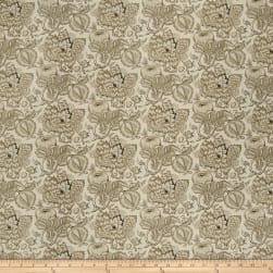 French General Bordeaux Linen Hemp Fabric