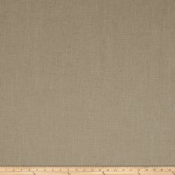 French General Cassis Basketweave Linen Natural Fabric