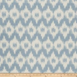 French General Flamme De France Woven Bleu Fabric