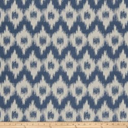 French General Flamme De France Woven Indigo Fabric