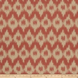 French General Flamme De France Woven Rouge Fabric