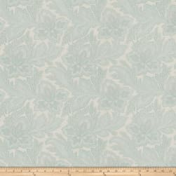 French General Fleur Indienne Jacquard La Mer Fabric