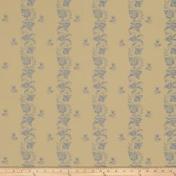 French General Maison Gabrielle Jacquard Bleu Fabric