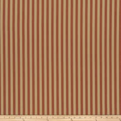 French General Montpezat Twill Rural Red Fabric
