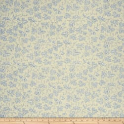 French General Odile Linen Bleu Fabric