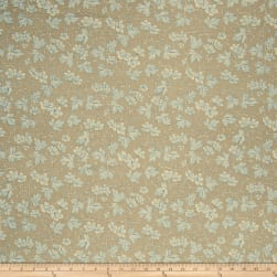 French General Odile Linen La Mer Fabric