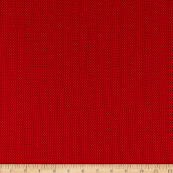 Spacer Mesh Red Fabric