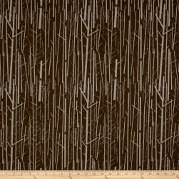 Birch Organic Charley Harper Western Birds Canvas Perch Bark Fabric