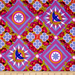 Alison Glass Seventy Six Renewal Opal Purple Fabric