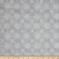 Alison Glass Seventy Six Flourish Shadow Grey Fabric