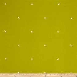 Alison Glass Insignia Flourescent Green Fabric