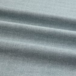 Linen Texture Grey Blue Fabric