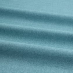 Linen Texture Light Blue Fabric