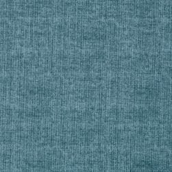 Linen Texture Smoky Blue Fabric