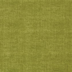Linen Texture Soft Olive Fabric
