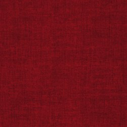 Linen Texture Red Fabric